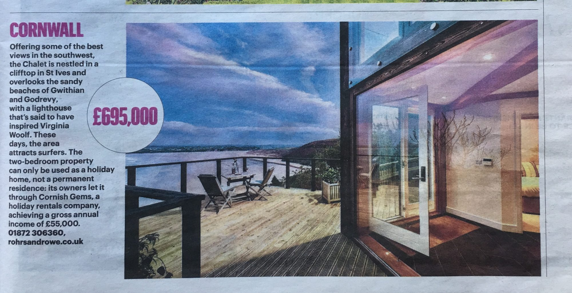 The Chalet - Carbis Bay