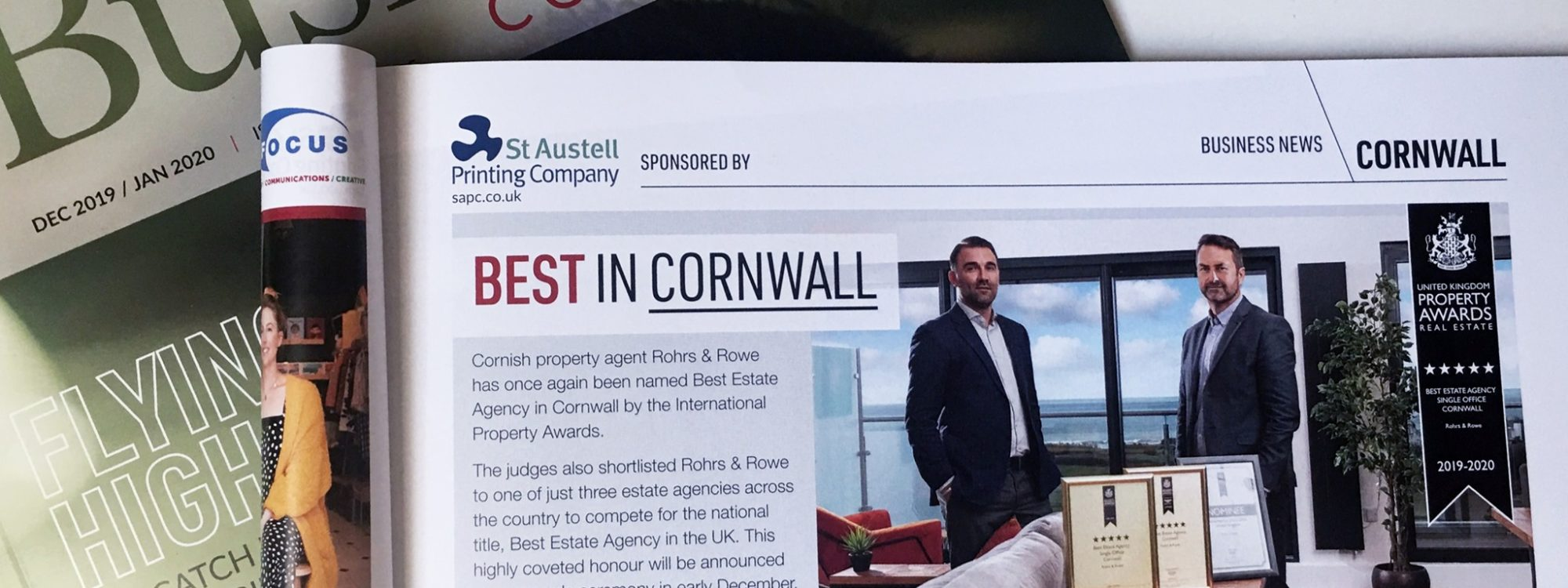 Business Cornwall Rohrs & Rowe